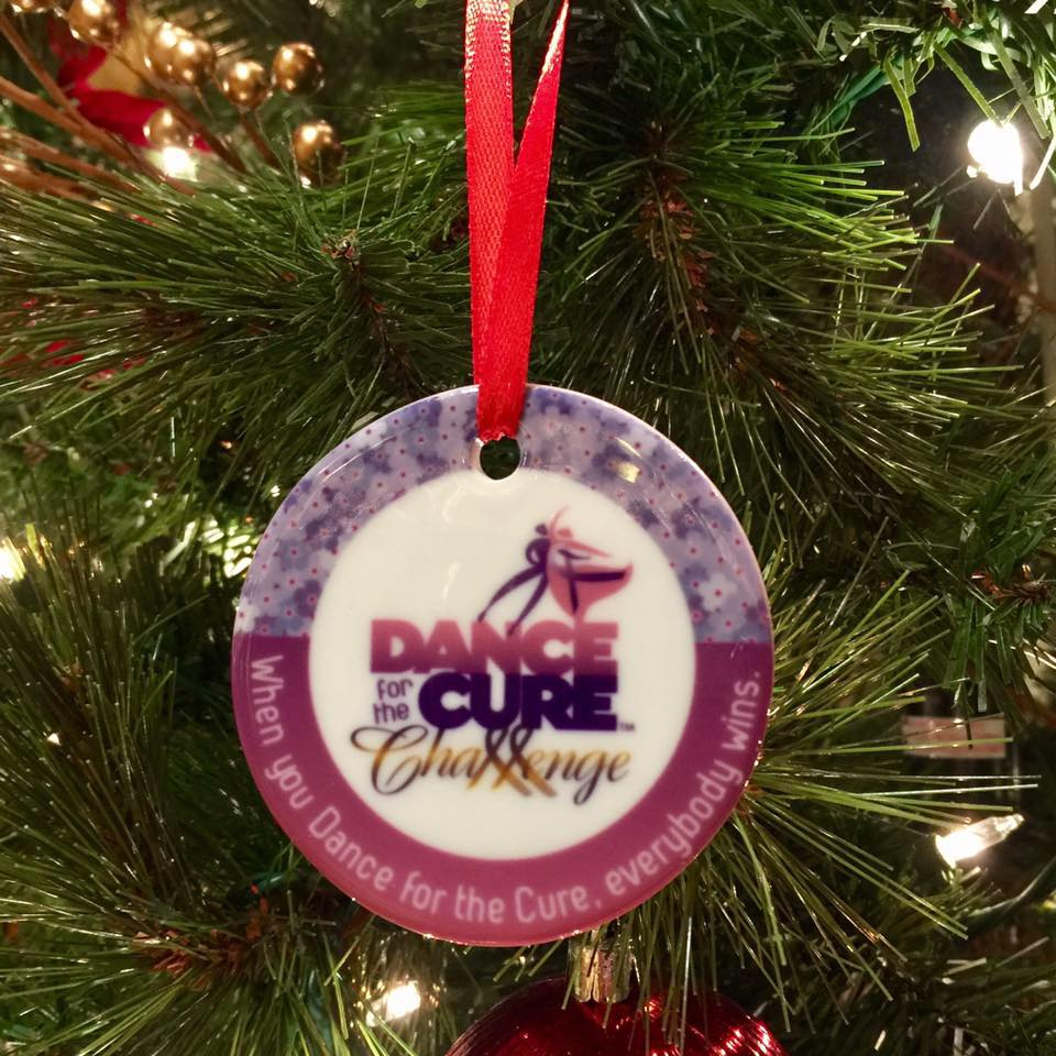 Dance for the Cure Challenge Ornament