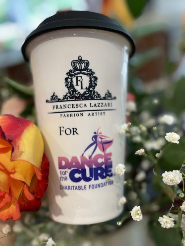 Francesca Lazzari Mug for Dance for the Cure, Inc.